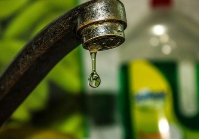 Tap water leakage