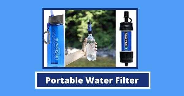 Portable Water Filter & Bottle for Traveller – Reviews