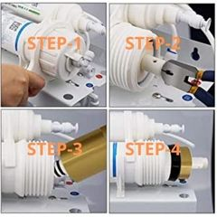 Four step to change ro membrane