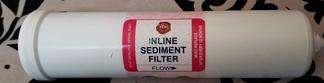 kent inline sediment filter