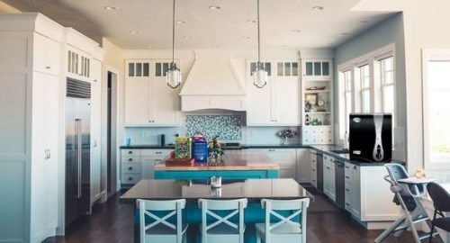 kitchen with pureit advance pro